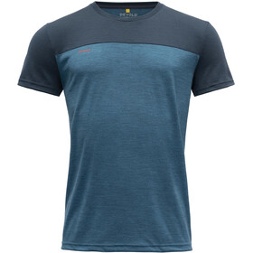 Devold Norang T-Shirt Men, night/blue melange
